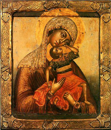 икона Помощь в родах