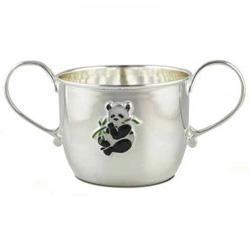 Серебряная посуда для детей
