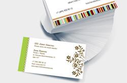 персональные визитки